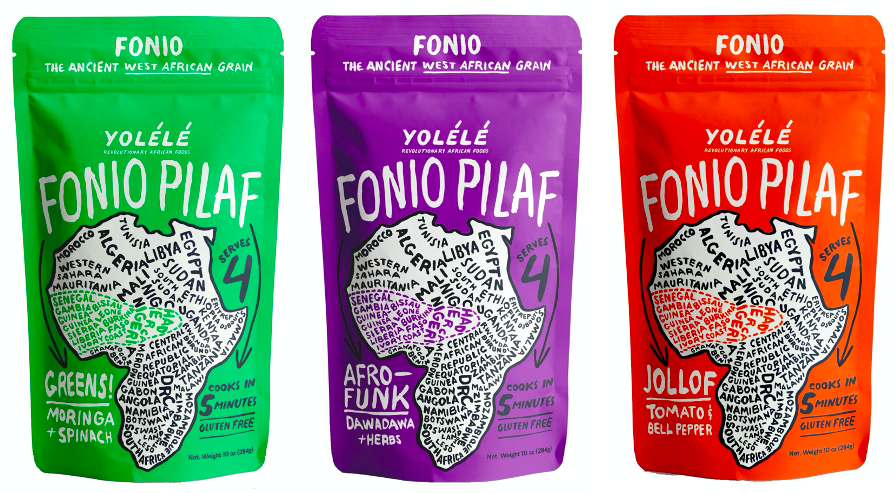 Packaging Yolele Fiono - West African Ancient Grains
