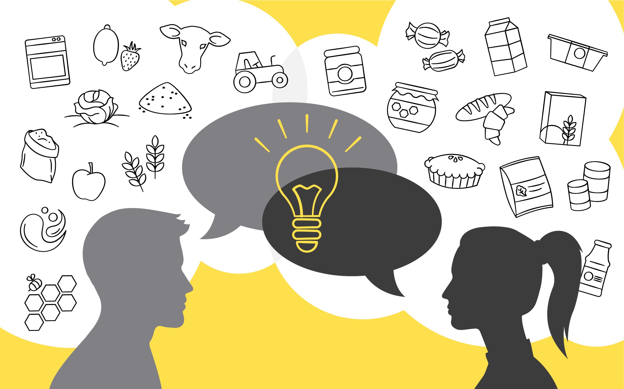 Supplier & customer co-innovation in food