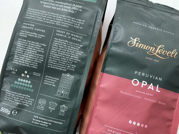 Premium packaging coffee beans Simon Levelt