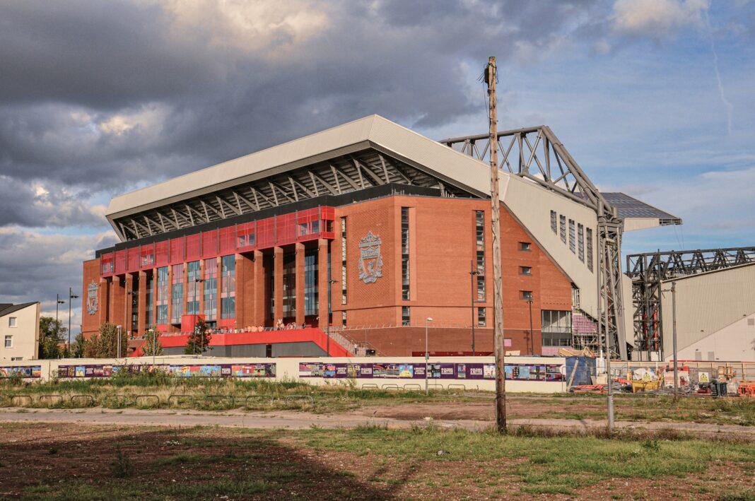 Anfield Road stadium Liverpool fc