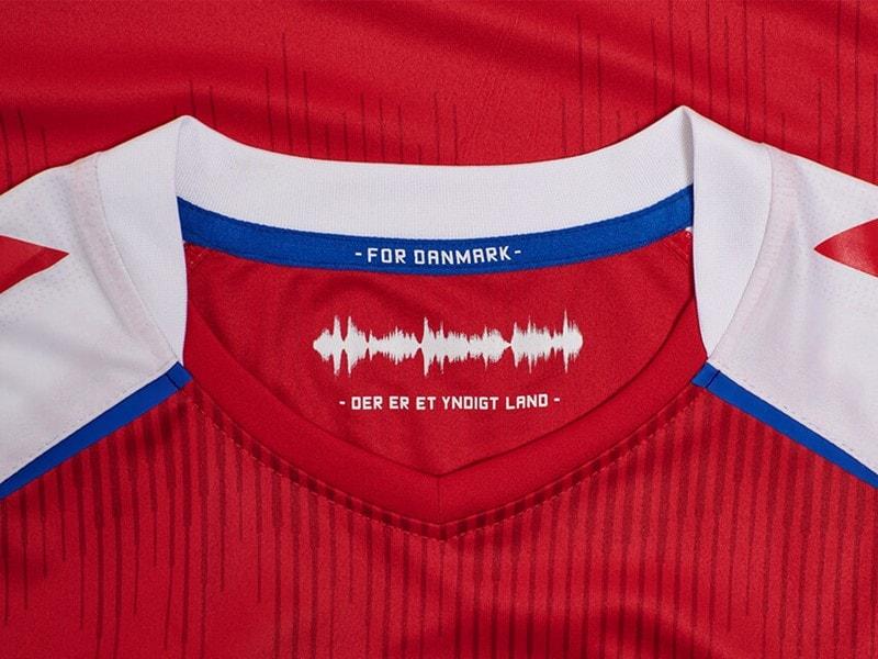 Jersey Hummel Denmark 2021 sound waves