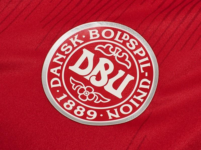 Football soccer jersey hummel Denmark