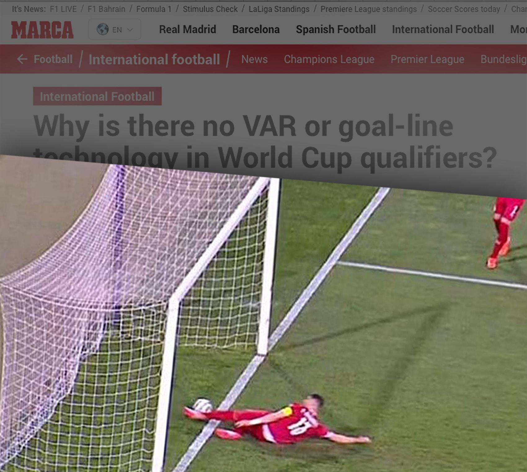 Portugal-Serbia Ronaldo Goal VAR World Cup Qualify