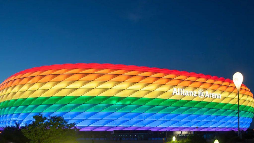 allianz-arena-Allianz Arena münchen munich LGBTQ