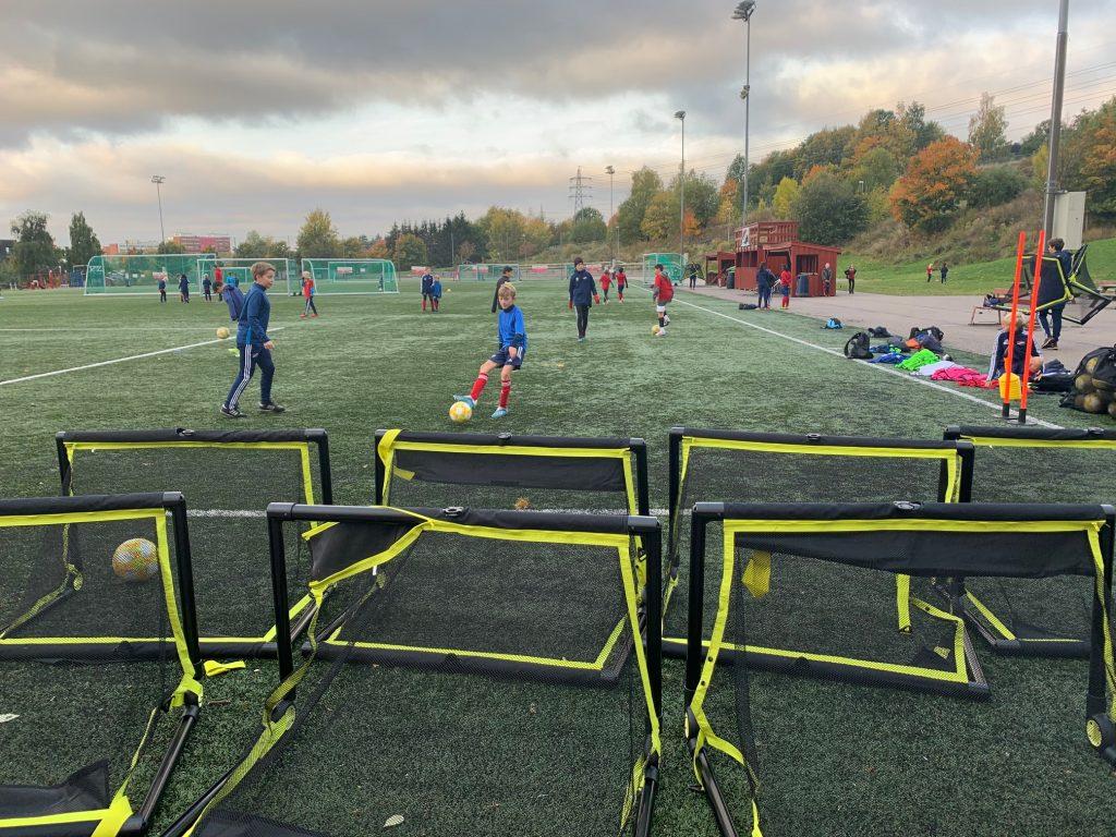 Bildet viser at Hasle-Løren har gode fasiliteter for å arrangere treninger og samlinger for barn og ungdom.