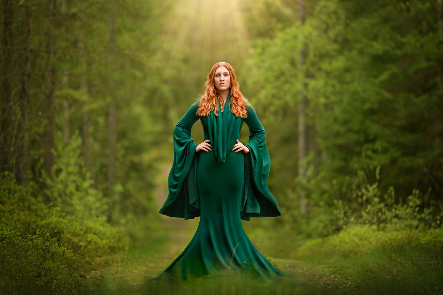 Sagofoto Lady of the Forest Fotograf Maria Lindberg