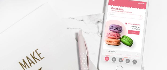 UI Design – Etty's Cake & Cookies Mobile App