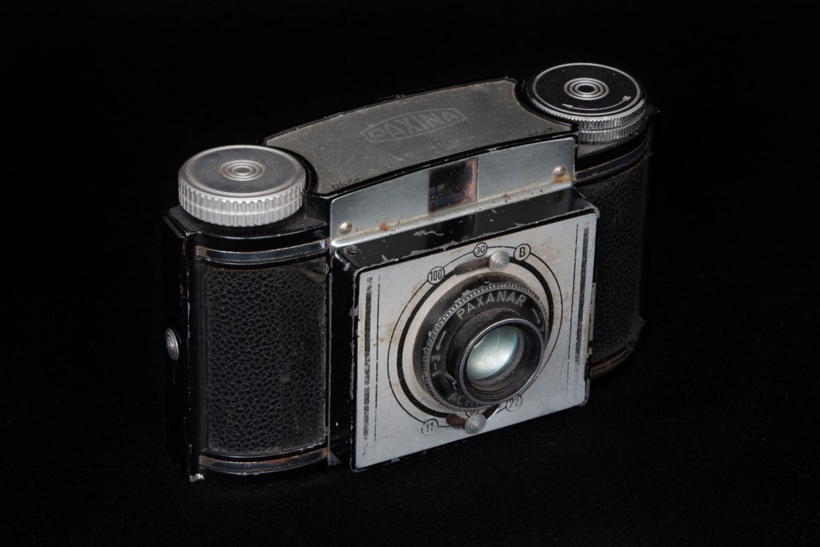 Productfotografie oude camera paxinar