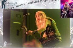Martjo Whirlewolf Brongers van Vortex tijdens zijn laatste optreden in Iduna bij Holland Heavy Festival 2019.