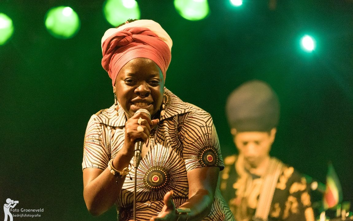 Black Omolo concert in Sneek