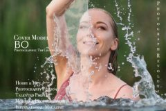 Op de Voorpagina Prestige Models Magazine
