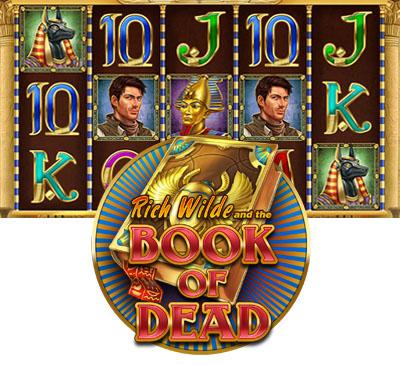 Tours gratuits sur Book of Dead