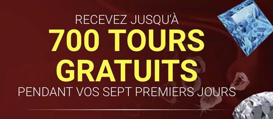 700 tours gratuits sur un casino du Luxembourg