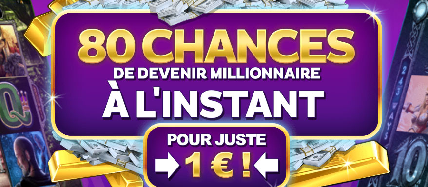 80 tours gratuit Mega Moolah chez Zodiac Casino