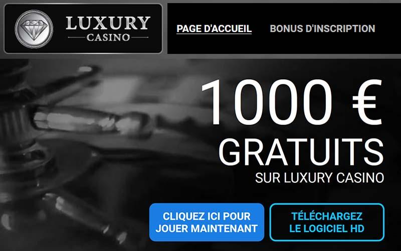 Jouer à la roulette chez Luxury Casino