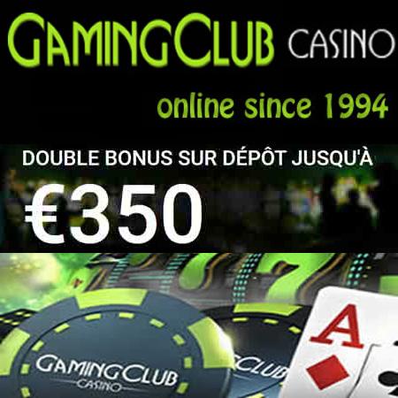 Gaming Club Casino en Ligne