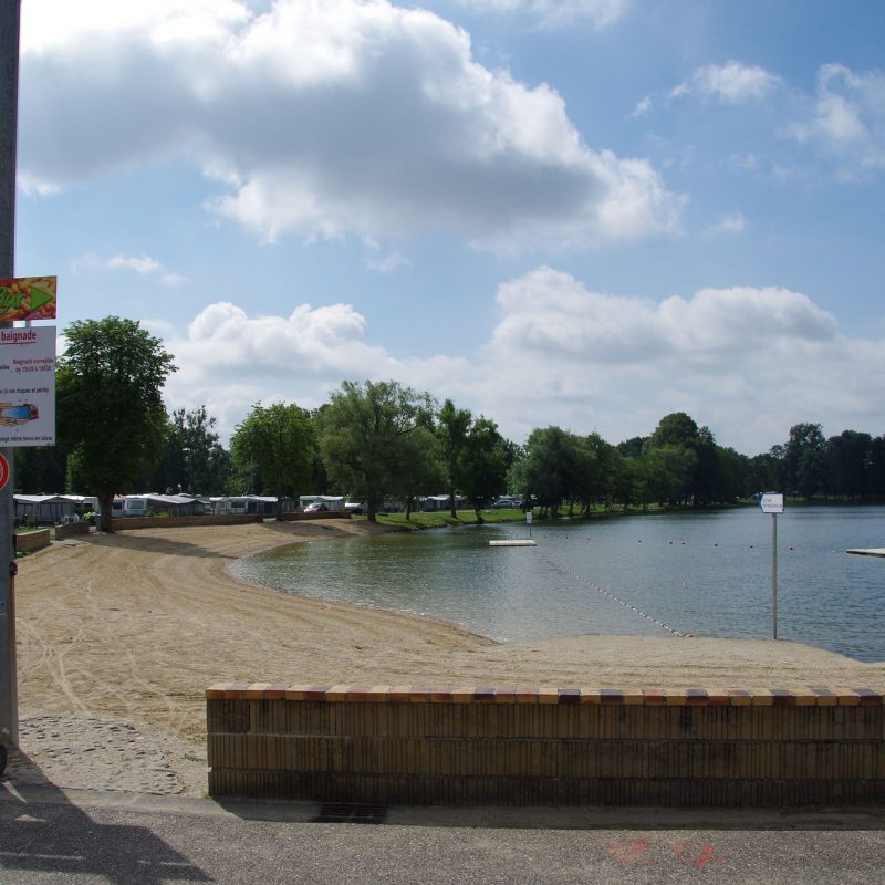 Lac vert plage Doulcon
