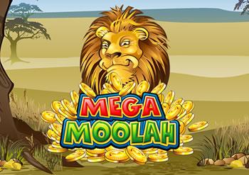 L'icone de la slot Mega Moolah - Le lion, le roi des animaux.