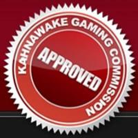 Licence certifiée de la Commission des jeux du Kahnawake - au Québec