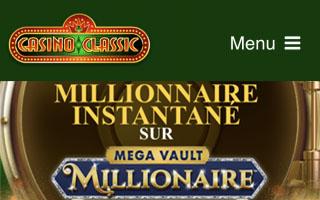 Tour gratuit au Mega Vault Millionaire