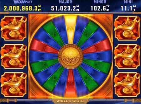 Wheel of Wishes est la nouvelle slot progressive de l'année 2020