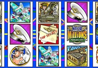 Major millions - Une slot progressif très connue