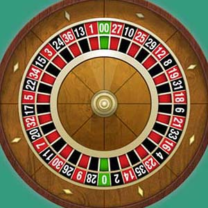 La roue de la roulette américaine