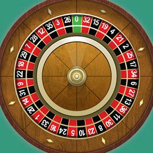 La roue de la roulette française
