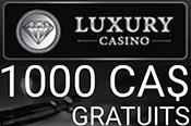 Luxury Casino accepte Interac