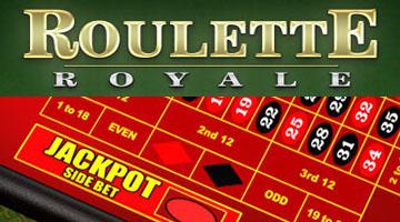 Case à jackpot de la roue de Roulette Royale