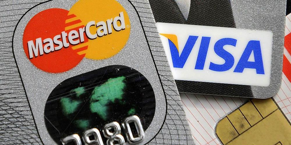 Mastercard et Visa sont les deux cartes de crédits utilisées pour jouer sur des casinos en ligne