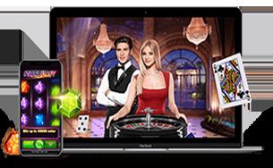Casino avec croupier sur PC