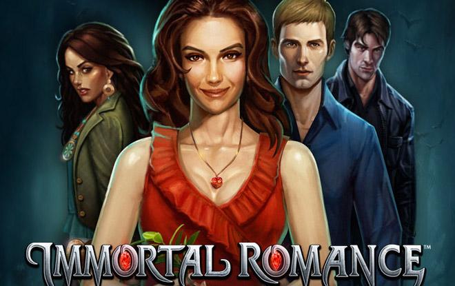 Immortal Romance slot machine a un bon taux de paiement