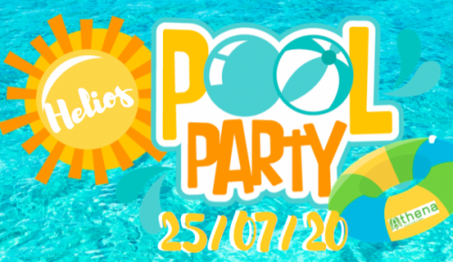 Helios Pool Party le 25 juillet 2020 @ Camping Athena Helios