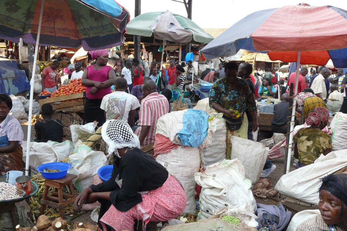 Markt-Afrika