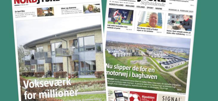 Artikel i Nordjyske om bestyrelsens planer