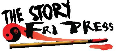 Bild-länk med texten 'The story – Fri Press'