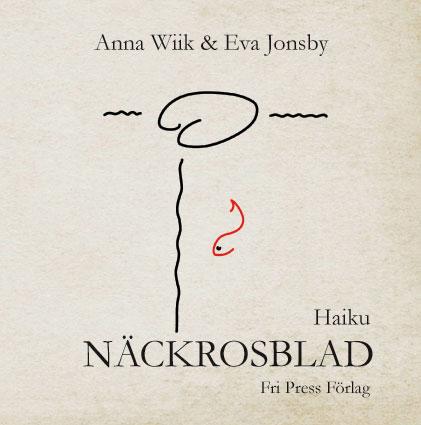 BILD: Omslag med texten '5 7 5 -kalligrafi med ord' av Susanne Andreasson Nilsson