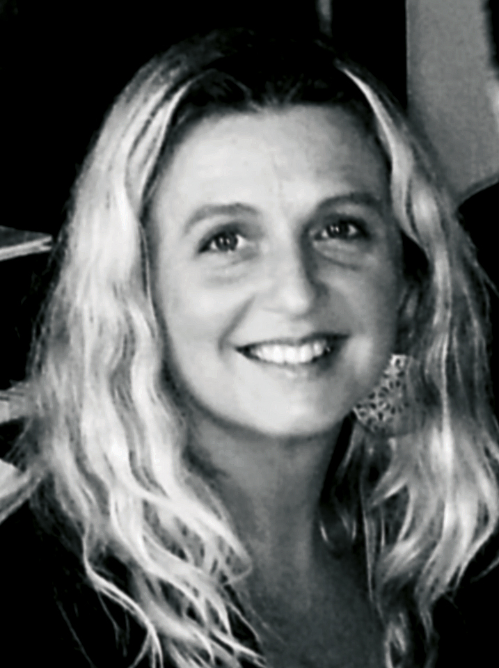 Bild: svartvitt porträtt; Charlotta von Mentzer
