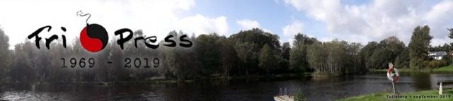 BILD: dammen i Tullstorp med skogen bakom. Vill du stoltsera med din bild här? Finns det himmel med så skicka den till oss.