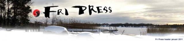 BILD: Fri Press header januari 2011, utsikt över en havsvik vid Hjortahammar