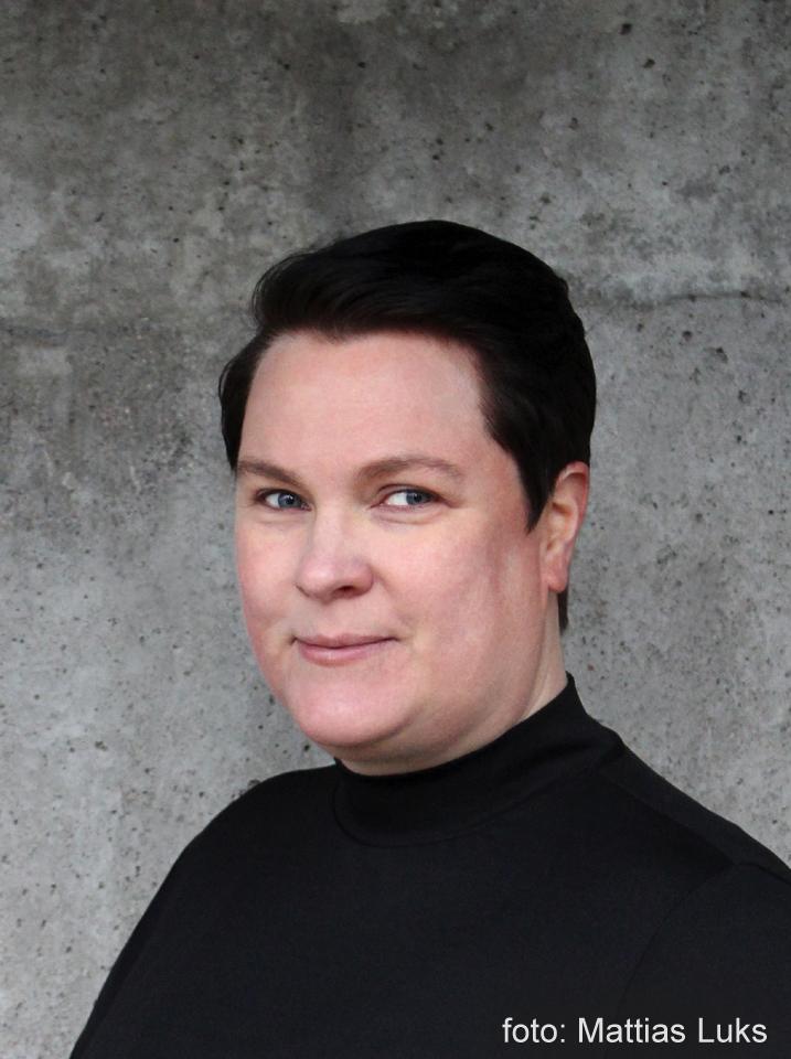BILD: porträtt av Jenny Luks (foto: Mattias Luks)
