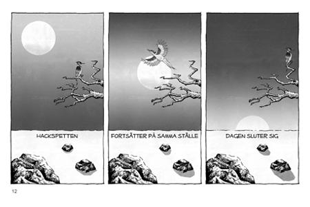 BILD: Illustration ur 'Haikumagasinet #2'