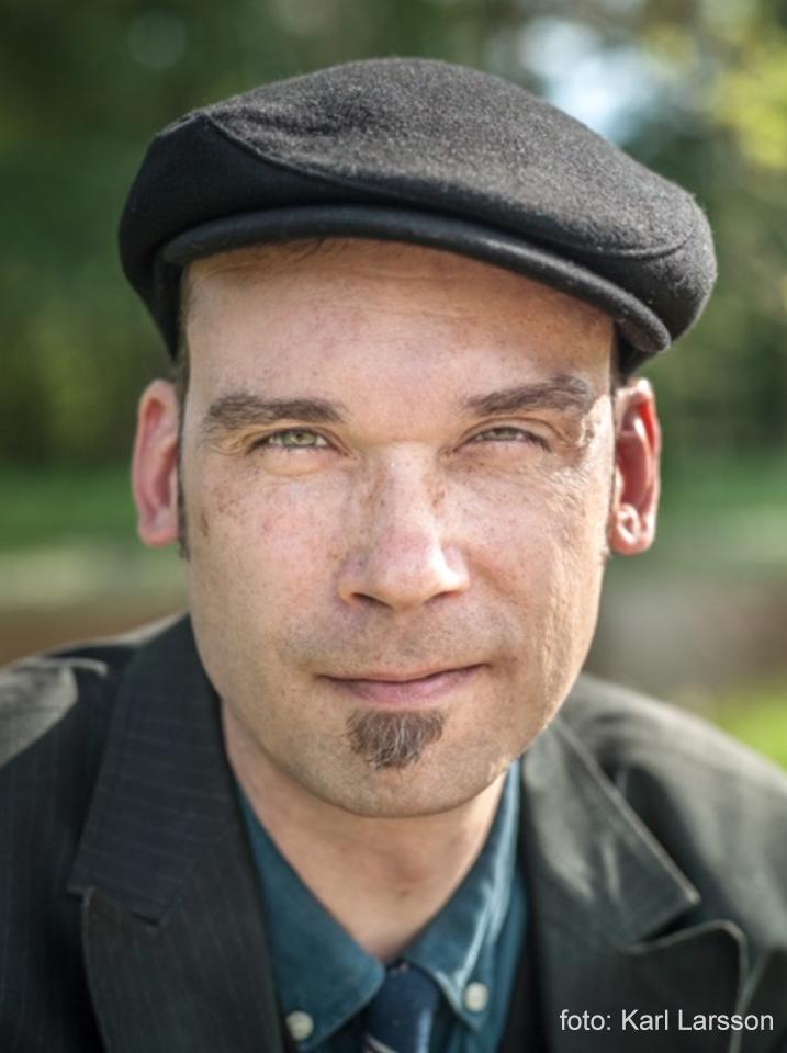 Porträtt av Joakim Becker, foto: Karl Larsson