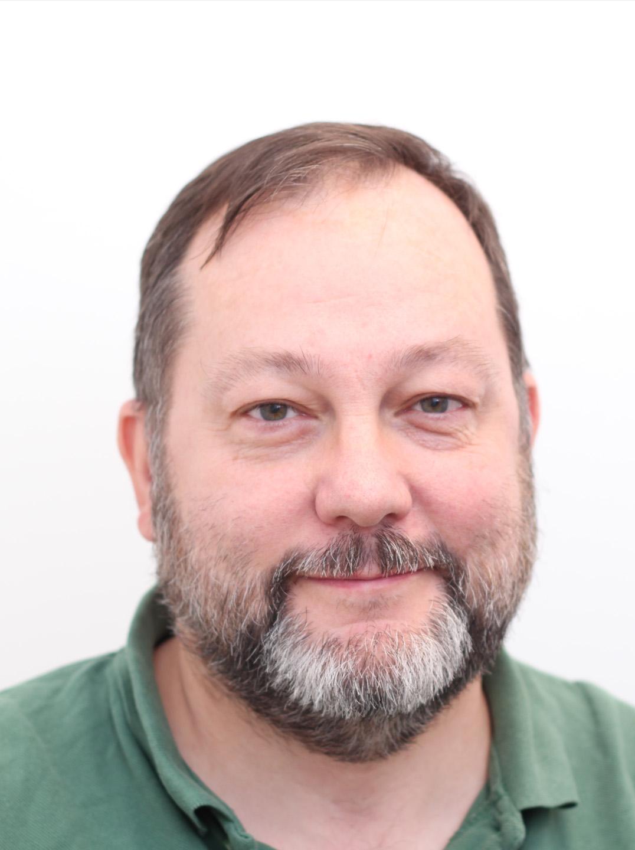 Porträtt av Peter Svensson, foto: Michel Larsson