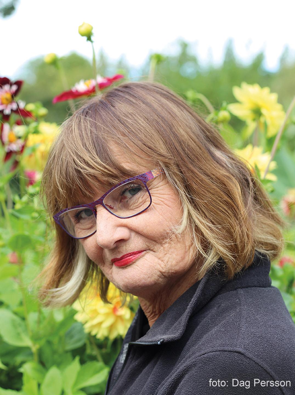 Porträtt av Helena Heyman, foto: Dag Persson