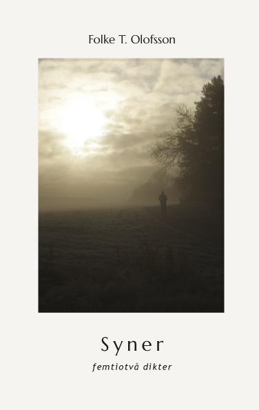 Omslaget till 'Syner' av Folke T. Olofsson
