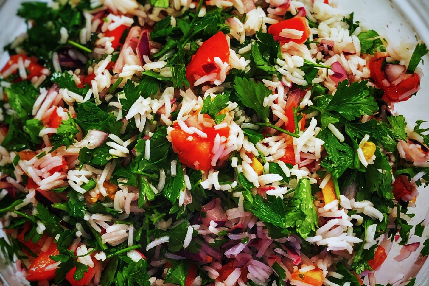 Tabbouleh with a twist