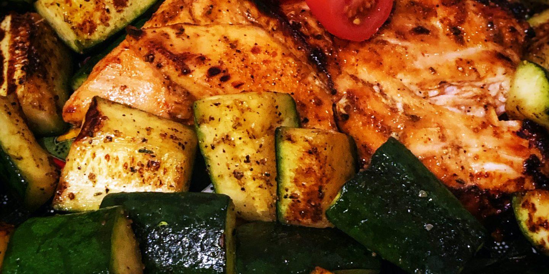 Lean Chicken Zucchini