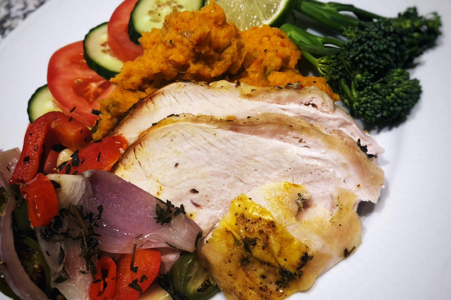 Easy to make, tasty and healthy turkey